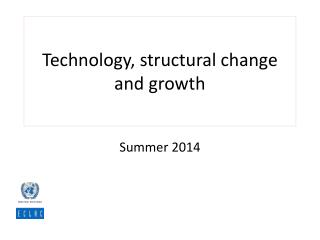 Technology, structural change and growth