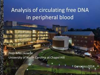 Analysis of circulating free DNA in peripheral blood