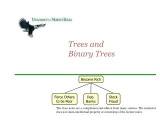 Trees and  Binary Trees