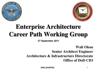 Enterprise Architecture Career Path Working Group