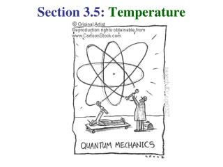 Section 3.5:  Temperature