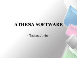 ATHENA SOFTWARE