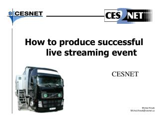 How to produce successful live streaming event