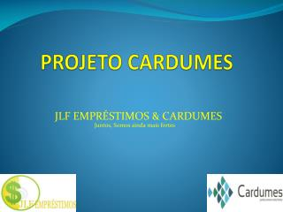 PROJETO CARDUMES