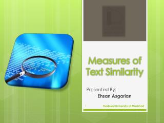 Measures of Text  Similarity