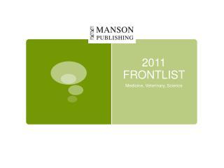 2011 FRONTLIST