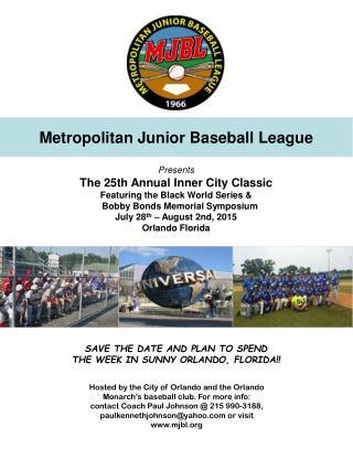 Metropolitan Junior Baseball League