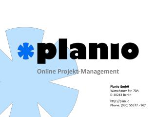Online Projekt-Management