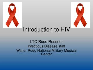 Introduction to HIV