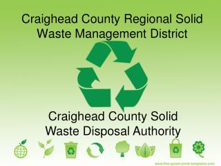 Craighead County Regional Solid Waste Management District