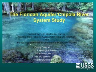 The Floridan Aquifer/Chipola River System Study