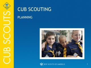 CUB SCOUTING