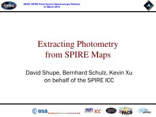 Extracting Photometry from SPIRE Maps