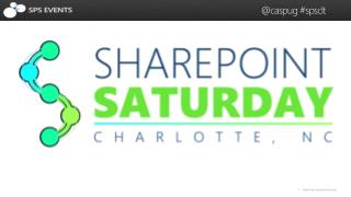 SharePoint Saturday Charlotte