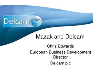 Mazak and Delcam