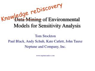 Data Mining of Environmental Models for Sensitivity Analysis