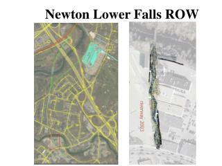 Newton Lower Falls ROW