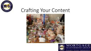 Crafting Your Content