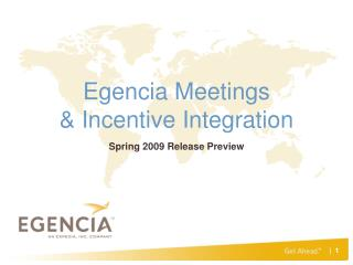 Egencia Meetings & Incentive Integration