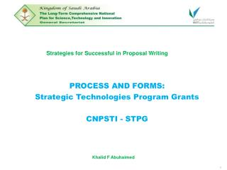Strategies for Successful in Proposal Writing