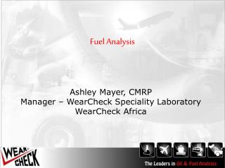 Fuel Analysis