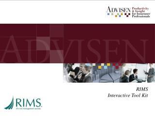 RIMS Interactive Tool Kit