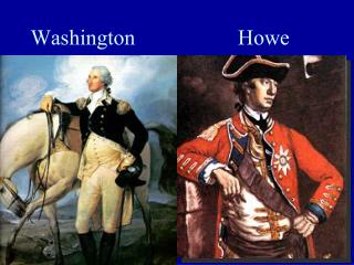 Washington                   Howe