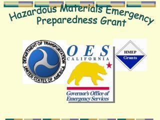 Hazardous Materials Emergency Preparedness Grant