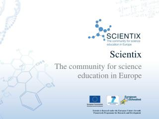 Scientix The community for science education in Europe