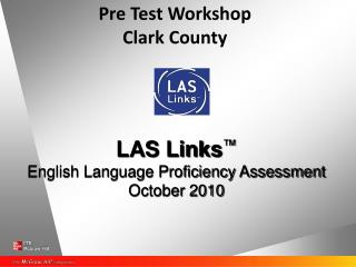 Pre Test Workshop Clark County