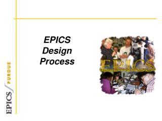 EPICS Design  Process