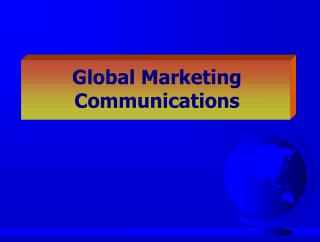 Global Marketing  Communications