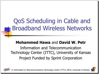 QoS Scheduling in Cable and Broadband Wireless Networks