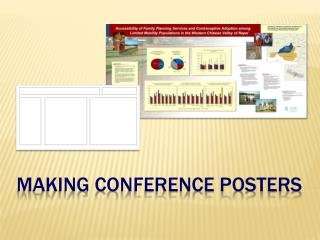 Making conference posters
