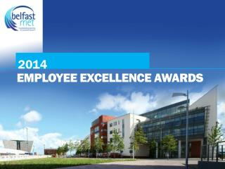 EMPLOYEE EXCELLENCE AWARDS