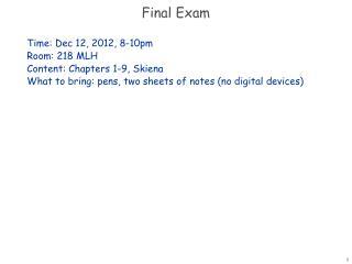 aeb2451 exam 1 lecture notes