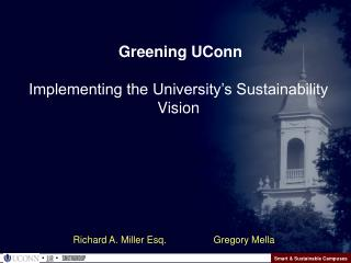 Smart & Sustainable Campuses