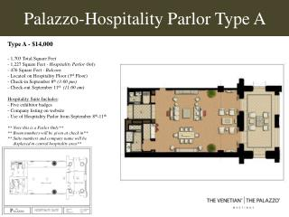 Palazzo-Hospitality Parlor Type A