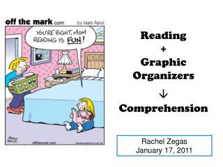 Reading + Graphic Organizers  Comprehension