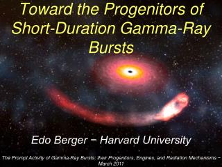 Toward the Progenitors of Short-Duration Gamma-Ray Bursts
