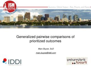 Generalized pairwise comparisons of prioritized outcomes