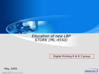 Digital Printing R & D 3 group