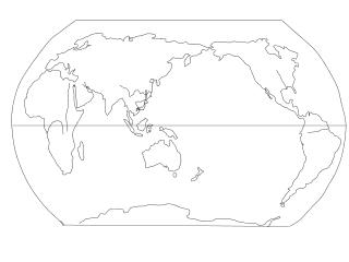 世界气候类型图
