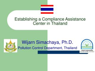 Establishing a Compliance Assistance Center in Thailand