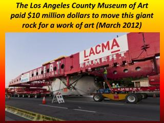 BIG ROCK MOVE IN CALIFORNIA show