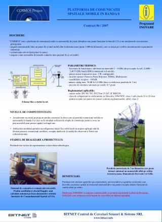 BITNET Centrul de Cercetari Senzori & Sisteme SRL bitnet