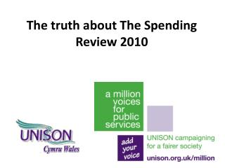 The truth about The Spending Review 2010