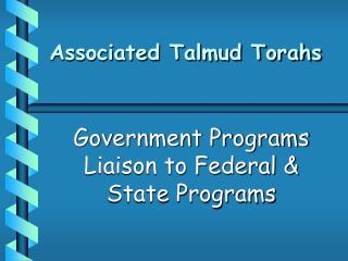 Associated Talmud Torahs