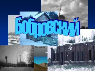 Бобровский