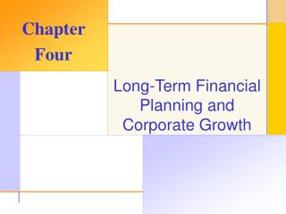 Long-Term Financial Planning and Corporate Growth